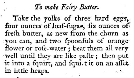 fairy butter