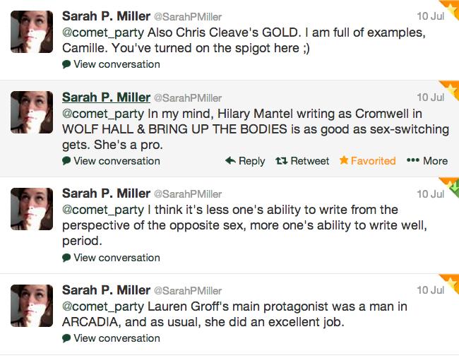 sarah's tweets