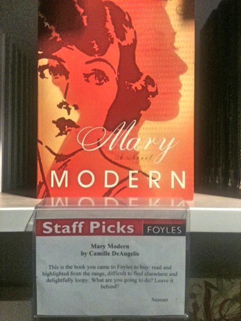 mary modern foyles staff pic